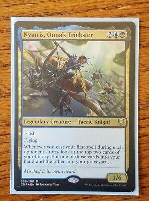 Foil-Etched 608 Rare M//NM OONA/'S TRICKSTER Details about  /MTG Commander Legends NYMRIS