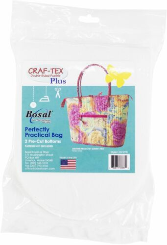337-PPB Bosal Craf-Tex Plus Double Sided Fusible Stabilizer-2 Pre-Cut Bottoms