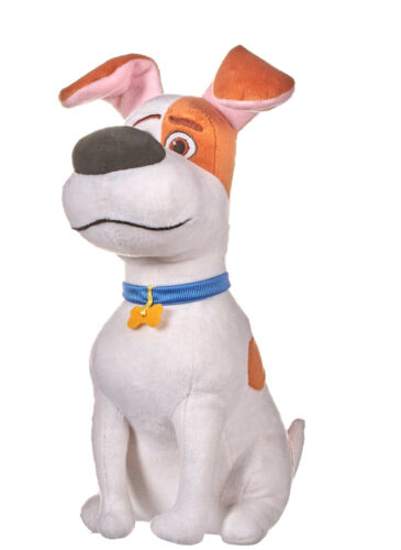 "NEW OFFICIAL 12/""  SECRET LIFE OF PETS 2 SITTING MAX SOFT PLUSH TOY"
