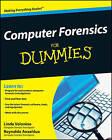 Computer Forensics For Dummies by Reynaldo Anzaldua, Linda Volonino (Paperback, 2008)