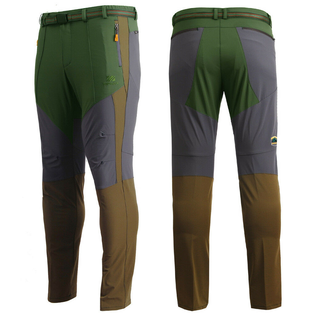 Mens sport mountains Outdoor Hiking CAMPING Trekking  Trousers Climbing  pants  best sale