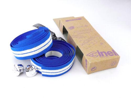 Cinelli handlebar tape Blue white Striped bar cork Ribbon vintage Bike NOS