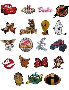 Kids-TV-Show-Movie-Iron-On-Sew-On-Patches-Badges-Transfers-Fancy-Dress-Brand-New