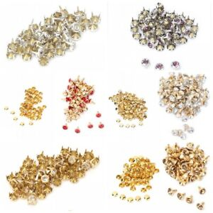 6-7-8-10mm-Rhinestone-Diamond-Crystal-Rivets-Studs-Leather-For-Bags-Shoe-Decor