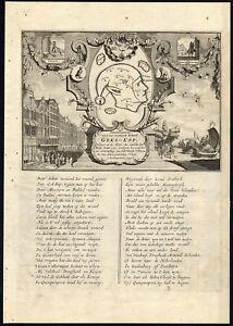 Antique Print Stock Market Satire Love John Law 1720 Ebay