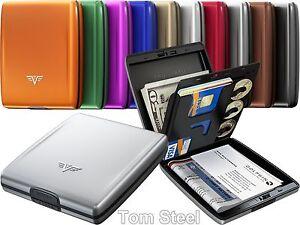 TRU-VIRTU-Aluminium-Geldboerse-BELUGA-Wallet-Kreditkartenetui-EC-Karten-Etui-NEU