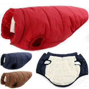Winter-Pet-Dog-Warm-With-Buttons-Coat-Puppy-Fleece-Lined-Padded-Vest-Jacket