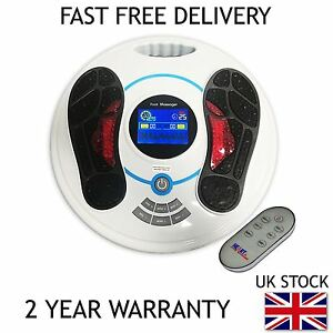 Heartline Circulation Plus Booster Foot Massager Amp Remote