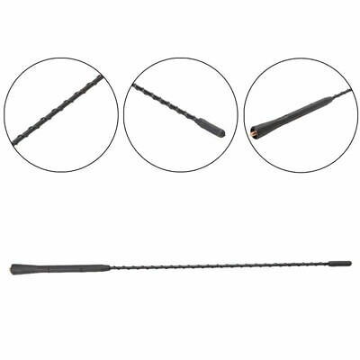"""1997-2007 Chrysler Town /& Country 8/"""" Black Stainless AM FM Antenna Mast FITS"""