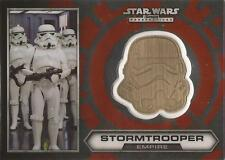 "Star Wars Chrome Perspectives - #4 of 30 Gold Helmet Medallion ""Stormtrooper"""