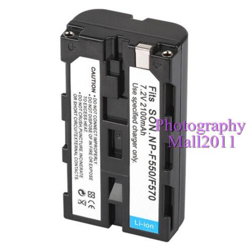 Reemplazo para Sony NP-F550 NP-F330 NP-F530 NP-F570 NP-F730 NP-F750 Batería
