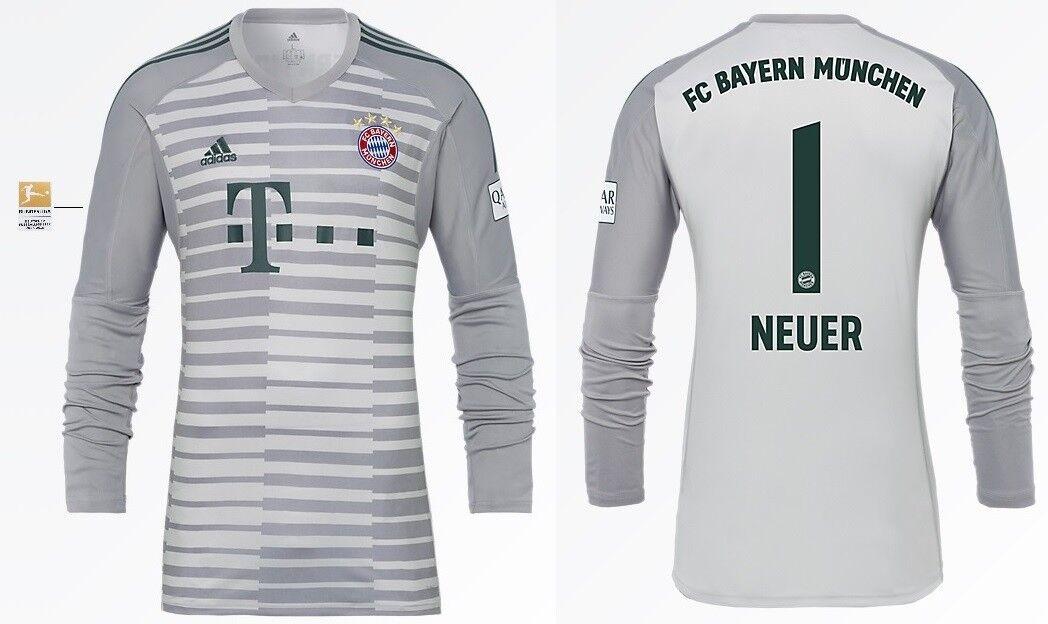Trikot FC Bayern München 2018-2019 Home Torwart BL - Neuer  Bundesliga