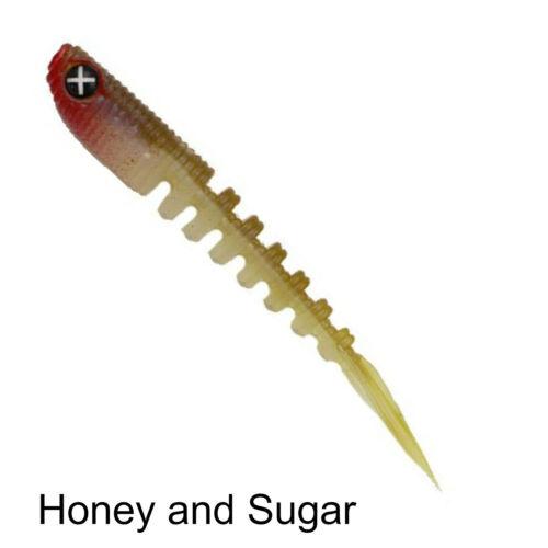 Monkey Lures Shaky Lui 7,5cm 8 Gummifische zum Spinnangeln auf Barsch und Zander