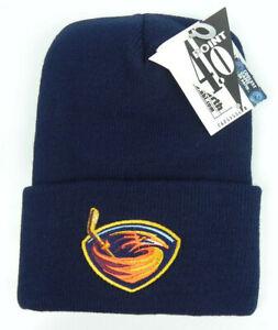 ATLANTA-THRASHERS-NHL-NAVY-VINTAGE-KNIT-CUFFED-BEANIE-SKI-WINTER-CAP-HAT-NEW