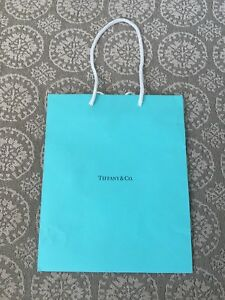 a496b6f0ee Tiffany & Co Authentic Bags Paper Gift Blue Bags Turquoise Shopping ...