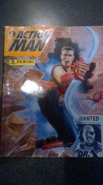 ALBUM PANINI ACTION MAN AVEC ÉTIQUETTES DE 1996 - 32 PAGES