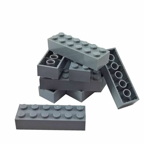 Lot Of 20-4181143 *NEW* Lego Bright Yellow 2x6 Bricks