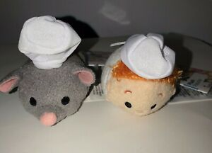 Disney Parks Mini 3 5 Tsum Tsum Plush Ratatouille Remy Chef Linguini Nwt Ebay