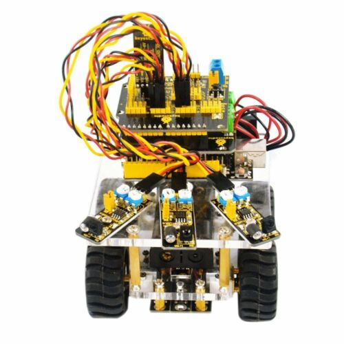 Keyestudio High Quality Desktop Bluetooth Mini Smart Car DIY Kit for Arduino