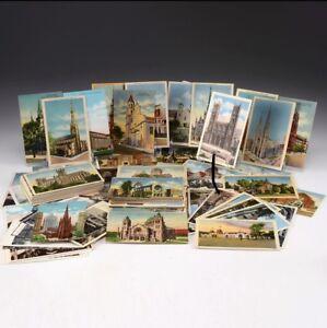 Postcards-Random-Vintage-Postcard-Lot-of-30-U-S-Postcards-1900s-1980s