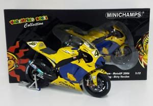 MINICHAMPS VALENTINO ROSSI 1 12 YAMAHA M1 MOTOGP 2006  DIRTY VERSION  1999 PCS