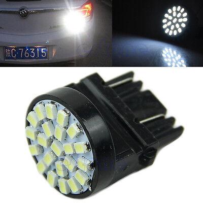 T25 1206 3057 3156 22 SMD LED Car Tail Brake Light Stop Turn Light Lamp White