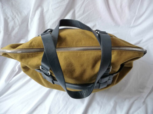 Daks Large Brand Signature Camel Coloured New Bag BwBXxrO