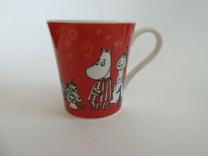 Yamaka Moomin Mug Cup Set 4cups Made in Japan