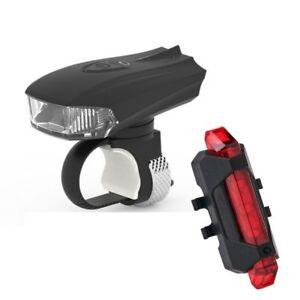 Neu-LED-USB-Fahrrad-Licht-Fahrad-Scheinwerfer-Fahrradlampe-Fahrradbeleuchtung