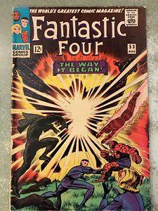 Silver-Age-Fantastic-Four-53-Aug-1966-Marvel