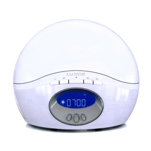 NEW Bodyclock ACTIVE 250 LUMIE dawn simulator Light Alarm Radio, NLT-250 white