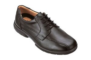 Homme-DB-Shoes-Hayling-Lacet-Extra-Large-Chaussures-Pour-Ortheses-4E-6E-Noir