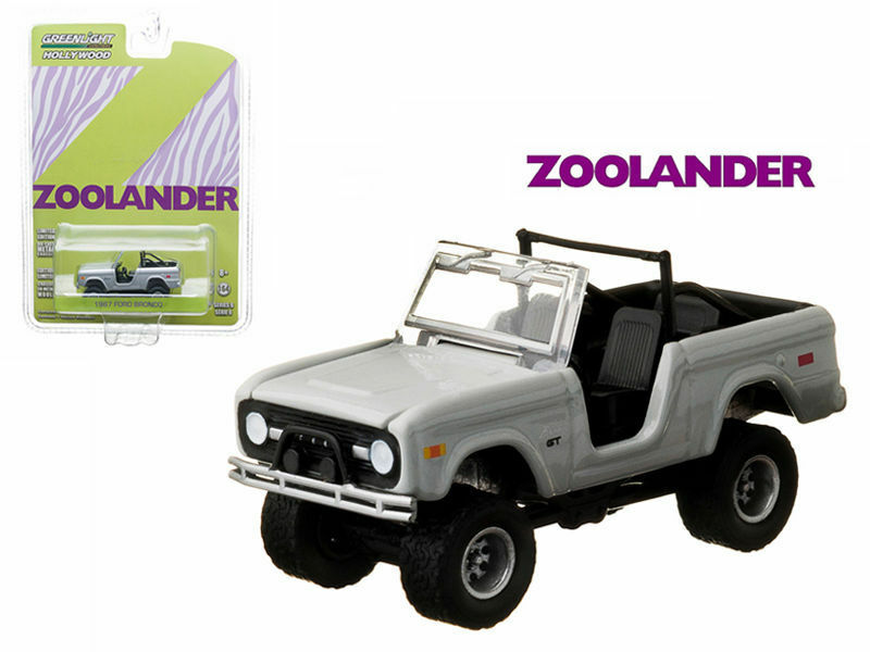 Sealed Case of 48 pcs - 1967 Ford Bronco 2001 Zoolander 1 64 by vertlight