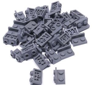 LEGO-40-x-Winkel-Konverter-invers-dunkelgrau-1x2-auf-1x2-99780-NEUWARE-L02