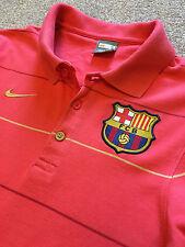 Precioso Barcelona Club De Fútbol Nike FCB Polo Camiseta S pequeño coste de £ 60
