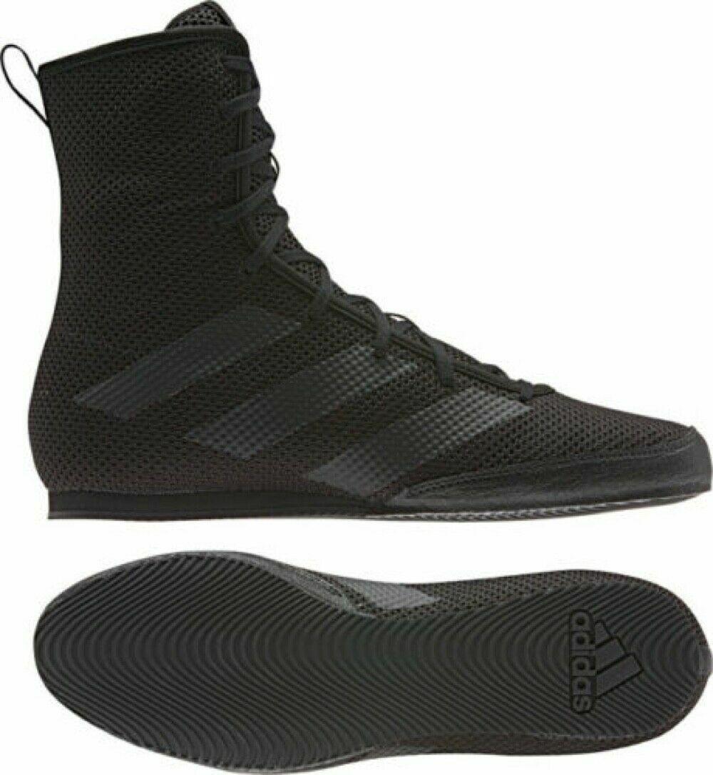 Adidas Box Hog 3 schwarz Boxing Stiefel Sparring Training F99921 Schuhe