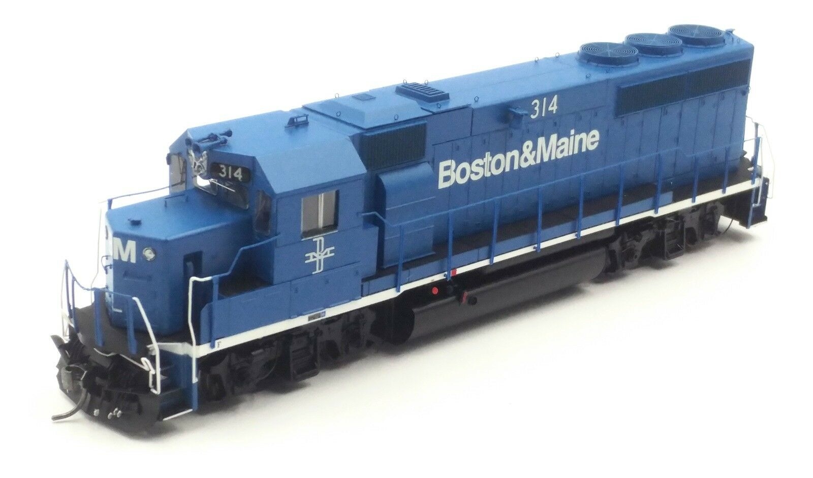 Athearn Genesis Ho Boston & Maine GP40-2 B&M 314 con DCC & Tsunami Sound