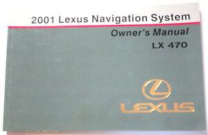 LEXUS-2001-LX470-Navigation-Manual-OM60907U