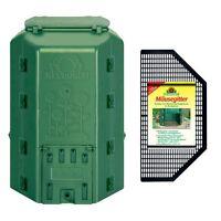 NEUDORFF Thermokomposter DuoTherm 530 Liter + Mäusegitter - Thermo Komposter