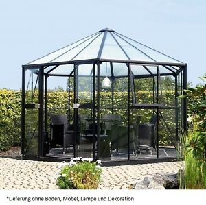 vitavia glas pavillon hera 9000 esg 9m fundament. Black Bedroom Furniture Sets. Home Design Ideas