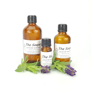 Lavender Essential Oil Organic 10ml - 100ml Pure Bulgarian Certified Organic