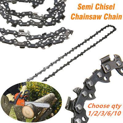 "3X CHAINSAW CHAIN SEMI CHISEL 16/"" 0.325/"" 0.063/"" 62 DL STIHL MS 210 230 250 251"