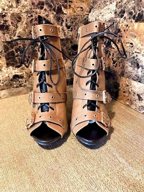Army Green Green Green Canvas Open Boot Size (8.5) 72fb23