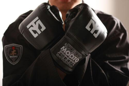 Mooto MMA Gloves Black Blue Pink Boxing Taekwondo TKD HKD Taebo Fitness Aerobics