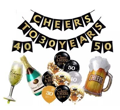 """Simply Cheers Diamond Clear with Gold Ink 11/"""" Qualatex Latex Balloons x 5"""