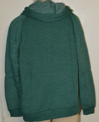 Women/'s American Eagle Green /& Gold Pullover Long Sleeve Hoodie Sweater S M L