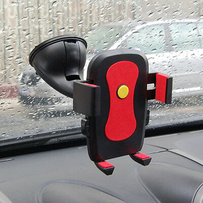 Auto Lock Universal 360°Rotating Car Windshield Mount Holder for Cell Phone GPS