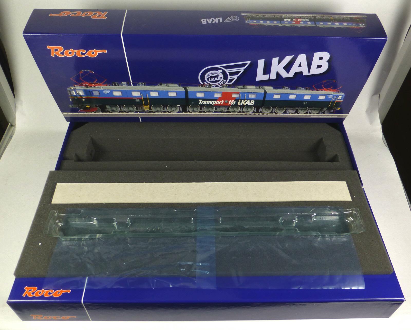 Roco cartón vacía 63754 e-Lok br dm3 1223 1241 1224 barón LKAB sb 1510 Empty Box