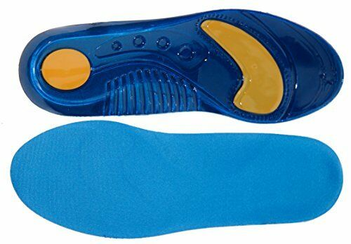 Pro11 Professional Series Sports Walking Orthotic Insoles with Shock Absorbent M