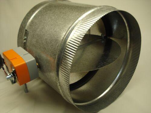 """Spring Return Damper with Belimo TF24or120V motor actuator 10/"""""""